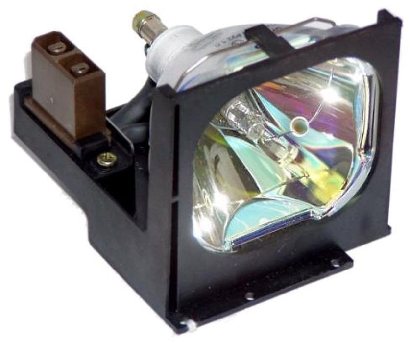 LAMP IN HOUSING FOR SANYO PROJECTOR MODEL PLCSU15B (SN75)