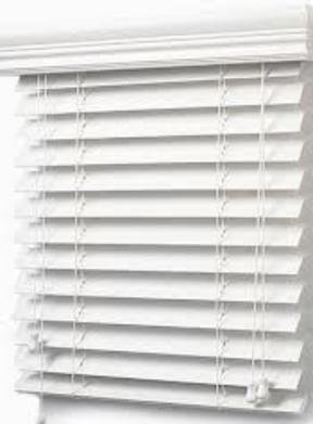 Faux Wood Blind-36146154 (36 1/4 x 61)