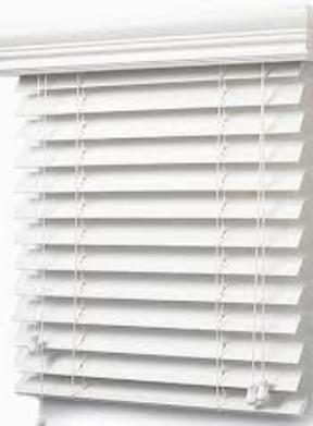 Faux Wood Blind-60006169 (60 x 61)