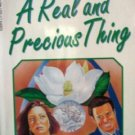 A Real and Precious Thing by Bancroft, Brenda