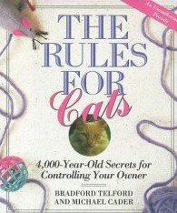 The Rules for Cats by Telford, Bradford