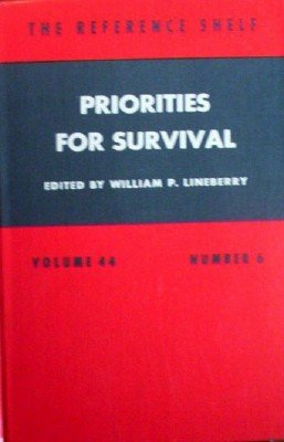 Priorities For Survival by Lineberry, William