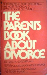 The Parents Book About Divorce by Gardner,Richard