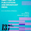 Gale Directory of Publications and Broadcast by Hedblad, Alan (Editor)