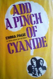 Add a Pinch of Cyanide by Page, Emma