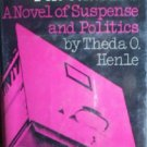Death Files for Congress by Henle, Theda O