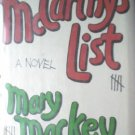 McCarthy's List by Mackey, Mary