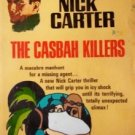 The Casbah Killers Nick Carter Killmaster (MMP 1969 G)