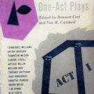 24 Favorite One-Act Plays Bennett Cerf (editor) MMP Acc