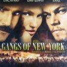 Gangs of New York Leonardo DiCaprio ( VHS 2003 Good )