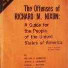 The Offenses of Richard M. Nixon William Dobrovir (SC *