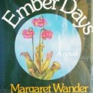 Ember Days Margareet W Bonanno (HB First Ed 1980 G/G)