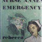 Nurse Anne's Emergency by Rebecca Marsh (HB 1965 G/G) *
