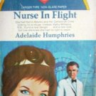 Nurse in Flight by Adelaide Humphries MMP 1968 Good
