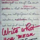 Write What You Mean by Allen Weiss (HB 1977 G)