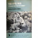 The Civil War A Second American Revolution? (HB G)*