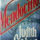 Mendocino by Judith Greber (1988 1st Ed Hardcover G/G)