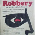 Highway Robbery by Sam Crowther (HB 1966) *