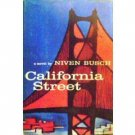 California Street by Niven Busch (HardCover 1958 G)