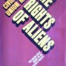 Rights of Aliens by David Carliner (MMP 1977 G) *