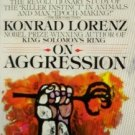On Aggression by Konrad Lorenz 1977, Paperback Good