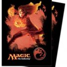 (80) Ultra Pro CHANDRA RED MANA  Deck Protector SLEEVES Magic The Gathering MTG