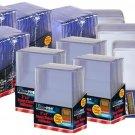 240 Piece Combo Ultra-Pro Toploader 4 Packs (35pt 100pt 130pt) Standard & Thick