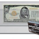 (25) LARGE BCW DELUXE CURRENCY SLEEVE BILL PAPER NOTE MONEY HOLDERS SEMI RIGID