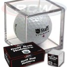 (12) BCW Golf Ball Square Cube Display Case Holder - FREE SHIPPING