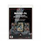 12 Snap-It Comic Book Wall Display Panels Holders Binder Sleeves Lot Protectors