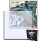 (20) BCW Record Single Topload Holder 45 rpm - 7 1/2 X 7 3/4 Toploader Plastic