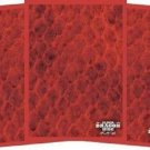 100 LEGION SUPPLIES ELDER DRAGON SCALES **RED** DECK PROTECTOR CARD SLEEVES MTG