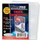 (500) Ultra Pro THICK Trading Card Sleeves (5 Pkg) For Thick Jerseys or Patches