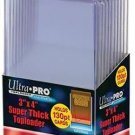 *NEW* (x50) Ultra Pro SUPER THICK 130pt TOPLOADERS Holders for Trading Cards