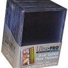 *NEW* (x100) Ultra Pro SUPER THICK 75pt TOPLOADERS Holders for Trading Cards