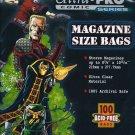 100 MAGAZINE STORAGE BAGS & BOARDS ACID FREE ULTRA PRO