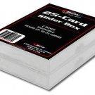 BCW 1 pack of two 25 ct Card Slider Box Baseball Football Basketball Hockey