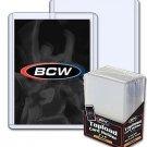 Lot / 200 BCW 15mil Premium Baseball Trading Card Topload Holders hard protector