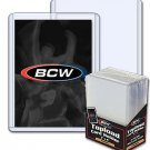 Lot / 150 BCW 15mil Premium Baseball Trading Card Topload Holders hard protector
