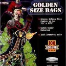 "1 Case of 1000 Ultra Pro 7 3/4"" Golden Age Comic Book Storage Bags Sleeves"