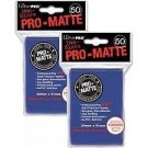 600 Ultra Pro Deck Protector Card Sleeves Pro Matte Blue Standard Magic Pokemon