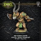 Hordes Circle Orboros Gnarlhorn / Rip Horn / Shadowhorn Satyr Box Set (1 Model)