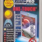 *NEW* (x50) Ultra Pro ONE TOUCH MAGNETIC 100pt UV Card Holder Display Case 81911