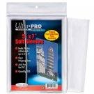 200 Ultra Pro 5 x 7 Postcard Photo Sleeves Holder Bag - 2 Packs