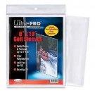 "(100) Ultra Pro 8"" x 10"" Soft Photo Sleeves 8x10 Acid Free No PVC Clear Poly"