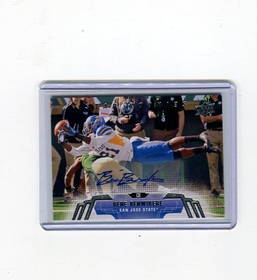 BENE BENWIKERE 2014 UD Upper Deck Football RC **ROOKIE AUTO** AUTOGRAPH