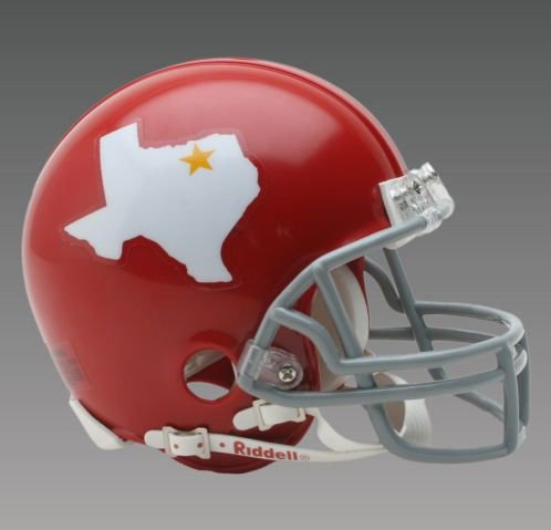 DALLAS TEXANS (1960-1962) Mini Throwback Helmet BRAND NEW