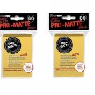 (600x) Ultra Pro YELLOW Pro-Matte SMALL YUGI Deck Protector Sleeves