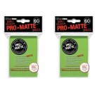 (600x) Ultra Pro LIME Pro-Matte SMALL YUGI Deck Protector Sleeves