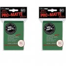 (600x) Ultra Pro GREEN Pro-Matte SMALL YUGI Deck Protector Sleeves